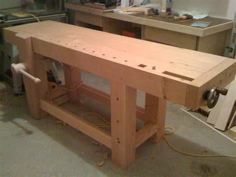 sjoberg woodworking bench plans diy