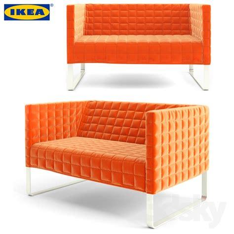 knopparp loveseat knopparp sofa orange baci living room
