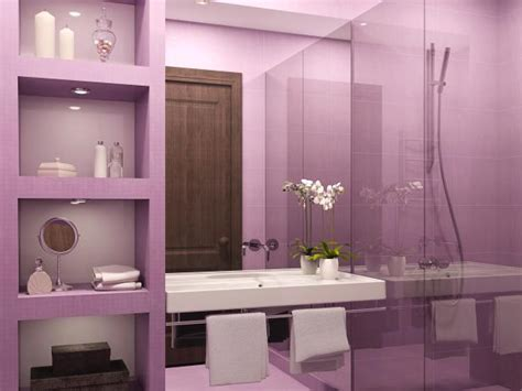 purple bathroom decor pictures ideas tips  hgtv hgtv