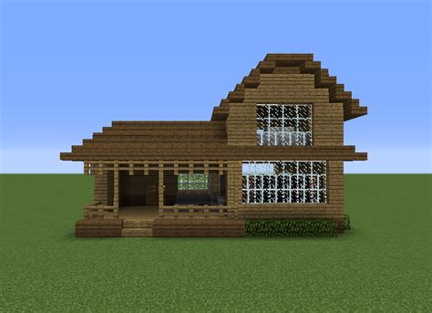 wooden house  grabcraft  number  source