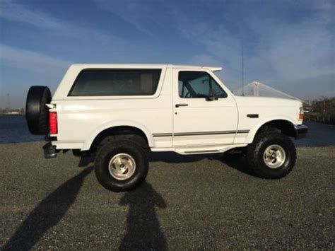 Ford Bronco Lift Kit by Find New 1995 Ford Bronco Xlt Sport Utility 2 Door 5 8l