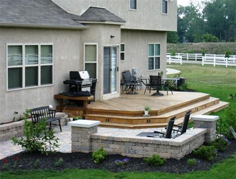 deck and patio ideas for small backyards home design ideas