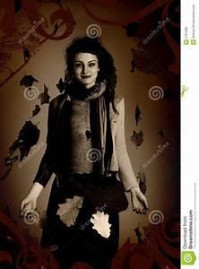 Woman Portrait, Grunge Style Stock Photo - Image: 2761082