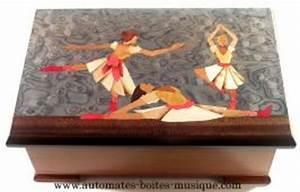 Boite à Musique Danseuse : vente bo te musique avec marqueterie traditionnelle marqueterie danseuses et automate ~ Teatrodelosmanantiales.com Idées de Décoration