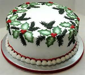 20 christmas cake decorations wallpapers