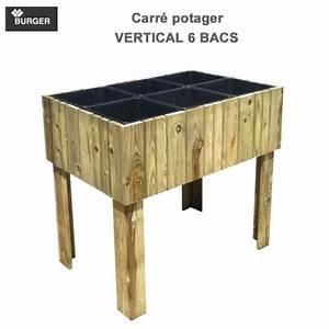 Carré Potager Haut : carr potager bois kub ~ Carolinahurricanesstore.com Idées de Décoration