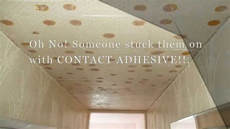 remove contact adhesive   ceiling youtube