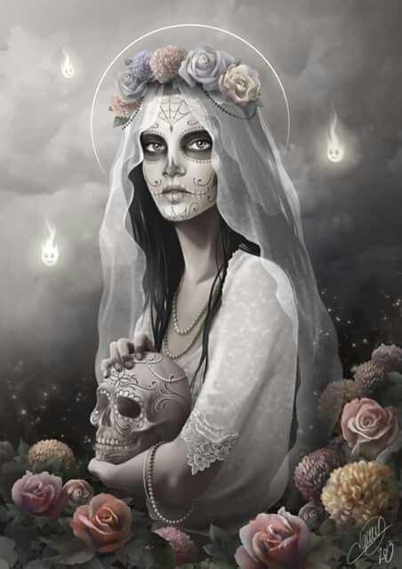 Santa Muerte Images Best 25 Santa Muerte Ideas On Day Of The Dead