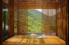 Home Designs Bamboo House Design 15 Inspiring Ideas To Decorate Your Home With Bamboo Natural Bamboo Design With Romantic Atmosphere 32 Interior Design Modernes Wohnzimmer Mit Bambusw Nden Und Pendelleuchten Mit