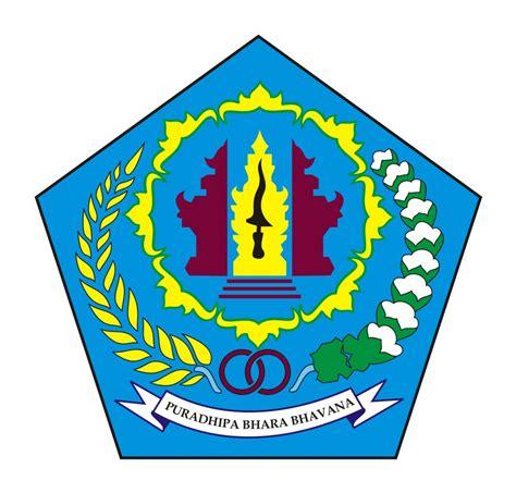 logo kota denpasar ibu kota provinsi bali original