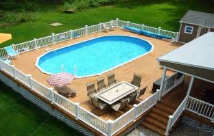 above ground pool deck plans oval pool decks pool deck
