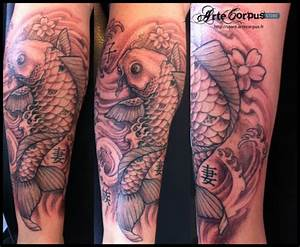 Tatouage Japonais Bras : tatouage carpe koi sur le bras inkage ~ Melissatoandfro.com Idées de Décoration