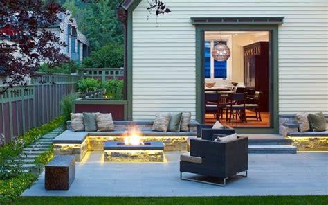 Feuerstelle Im Garten Bauen  49 Ideen Und Bilder Als