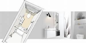 Tipps Für Kleine Bäder 4 Quadratmeter : grundrisse f r 3 kleine b der unter 5 quadratmeter reuter magazin badezimmer grundriss wc ~ Watch28wear.com Haus und Dekorationen