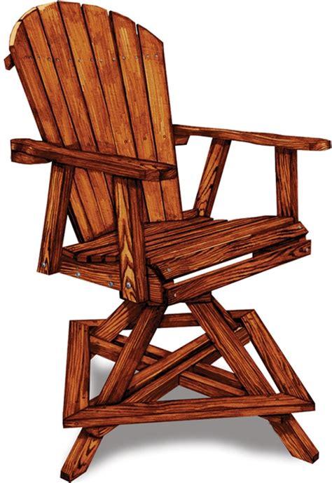2 adirondack swivel balcony chair amish swings things