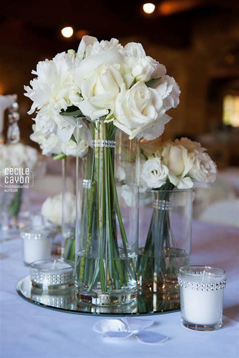 decoration mariage fleurs blanches decormariagetrnds