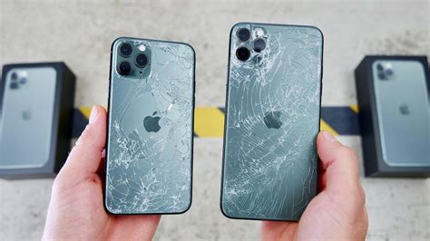iphone pro drop test puts apples toughest glass