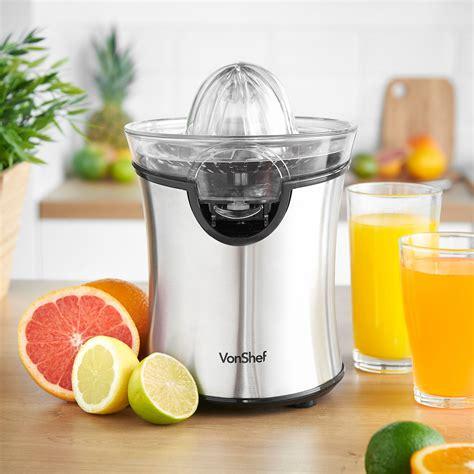juicer citrus vonshef stainless steel electric blender lemon combo orange 100w lime belongs kitchen fruit juicers