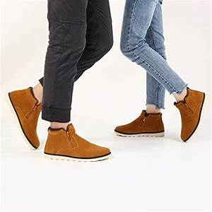 Men's Snow Boots,Gracosy Korean Style Warm Casual Shoes ...
