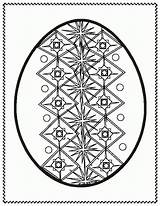 Easter Egg Coloring Pages Bunny Ukrainian Eggs Pysanky Designs Colour Printable Colouring Sheets Clipart Clip Template Google Hunt Cliparts Adult sketch template