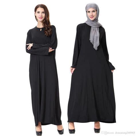 arrival islamic black cloak abayas muslim long dress