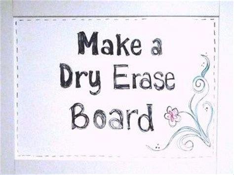 Shower Board Whiteboard - make a erase board from shower boards cut to