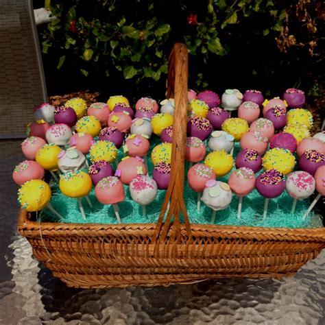 easter cake pops easter cake pops hotel amenities ideas pinterest