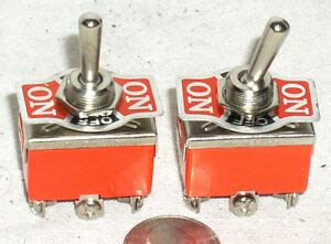 New Toggle Dpdt Off Momentary Mom Switch Amp