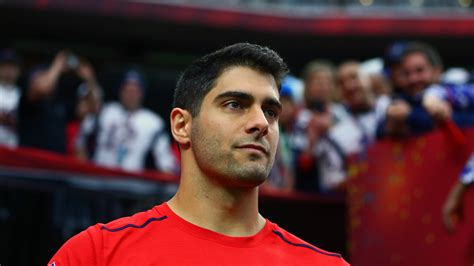 Report: Browns have no shot of acquiring Jimmy Garoppolo ...