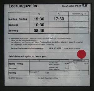 Deutsche Post Lieferzeiten Brief : file ffentl briefkasten jpg wikimedia commons ~ Watch28wear.com Haus und Dekorationen