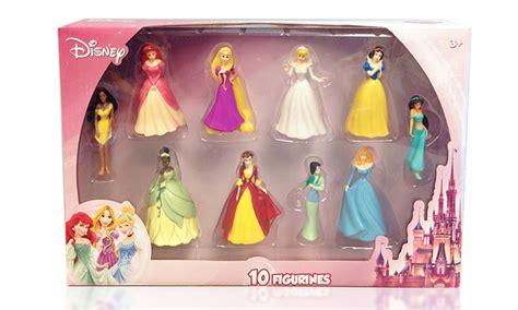 disney princess figurine set groupon goods