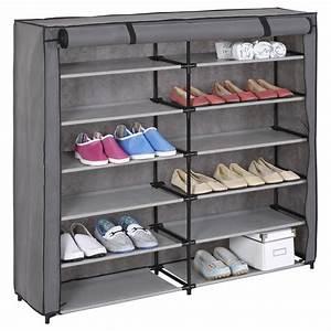 Meuble Chaussure 40 Paires : meuble chaussures 100 paires achat vente pas cher ~ Teatrodelosmanantiales.com Idées de Décoration