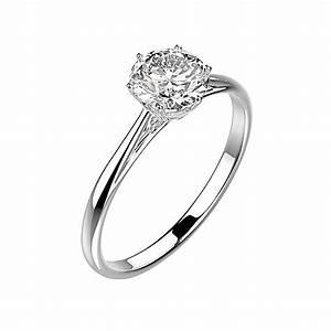 gemmyo bague lady argent diamant With bague argent