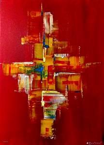 luxe peinture de mur pour chambre avec peinture tableau With couleur peinture pour salon moderne 14 tableau abstrait moderne rouge noir blanc