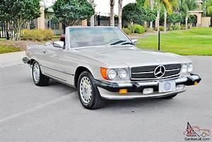 Mercedes 560 Sl : inpeccable just 68 593 miles 1986 mercedes 560 sl ~ Melissatoandfro.com Idées de Décoration