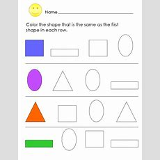 Prek Shapes Worksheets To Print  Loving Printable