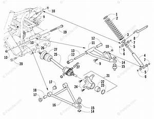 Arctic Cat Side By Side 2007 Oem Parts Diagram For Front