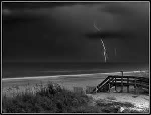 Ocean Storm at Night