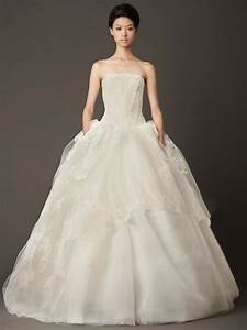 ball gown sexy back strapless straight across floor length With straight wedding dresses