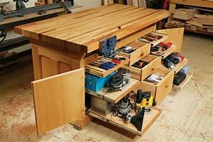 AW Extra - Dream Workbench - Popular Woodworking Magazine