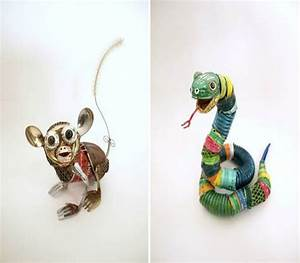 Design Animal Sculptures with Garbage Recycled Things