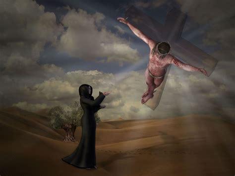 jesus  kreuz foto bild fotomontage surreal mit