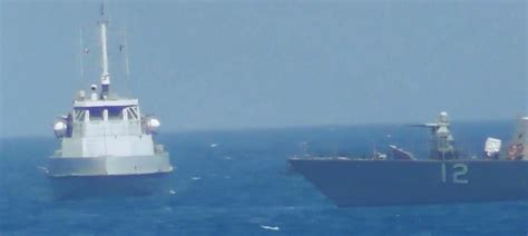 cold war iran sends warships  gulf  mexico