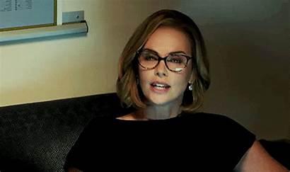 Shot Theron Charlize Glasses Google Oscars Shots