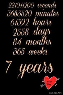 6 year wedding anniversary best 25 7 year anniversary ideas on 7th anniversary gifts 7 year anniversary gift