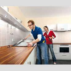 Arbeitsplatte Küche Selbst Einbauen  Ideen Haus  Ideen Haus