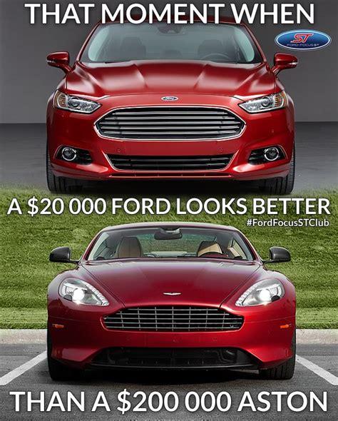 Ford Focus Aston Martin that s right ford power ford mondeo vs aston martin