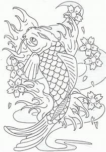 Leaping Koi Fish By Heavy Metal Ink On DeviantArt