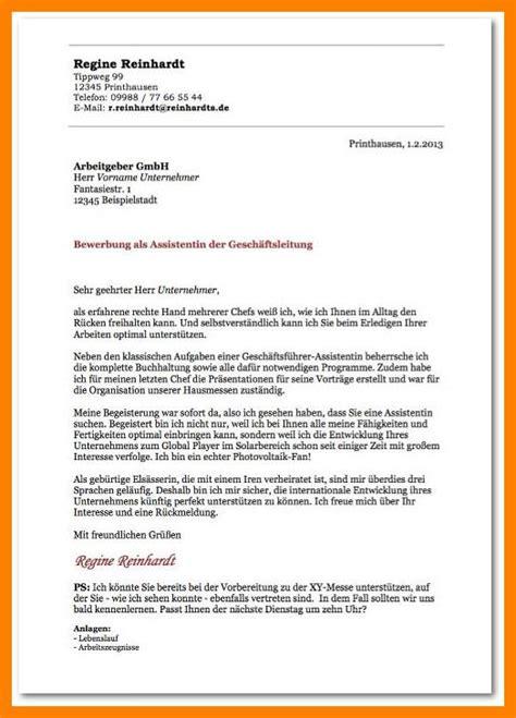 Bewerbung Anschreiben by 16 Bewerbung Vordruck Zamzambar