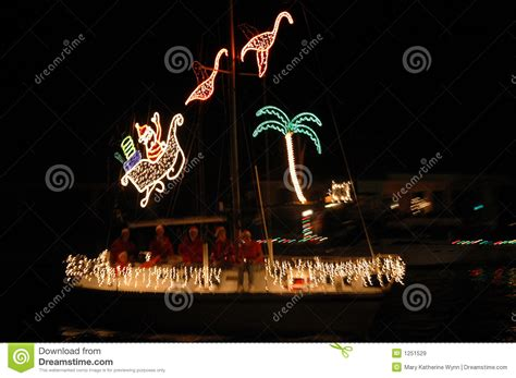 tropical christmas lights royalty free stock images